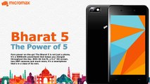 Micromax Bharat 5 : First Impression (Hindi)