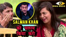 Arshi Khan's Father ADVICES Her To RESPECT Salman Khan  Bigg Boss 11
