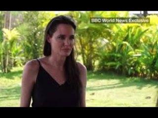 "Angelina Jolie ""In Tears Over Losing"""