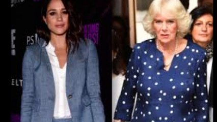 Camilla Has the Perfect Welcome for Meghan Markle