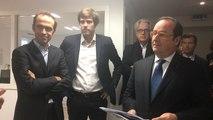 François Hollande découvre Famileo