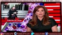 Kate Del Castillo evacuada de su casa por incendios forestales-Al Rojo Vivo-Video