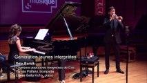 Bela Bartok / arrangement Tamas Palfalvi | Trois Chansons populaires hongroises du district de Csik par Tamas Palfalvi et Eloïse Bella Kohn
