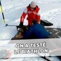 On a testé le biathlon et on a compris l'engouement pour ce sport