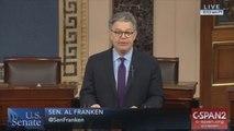 Al Franken denies accusers claims while quitting Senate