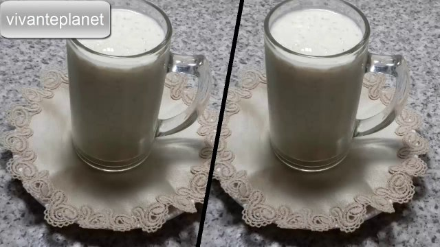 how to make  almond and dates  juice at home