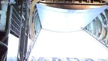 U.S. Navy MH-53E Sea Dragons Refueled by Marine Corps KC-130J