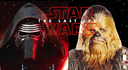Star Wars: The Last Jedi, Kylo Ren battles Chewbacca (sneak preview)
