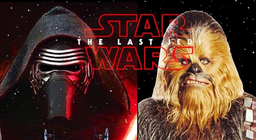 Star Wars: The Last Jedi, Kylo Ren battles Chewbacca (sneak preview)
