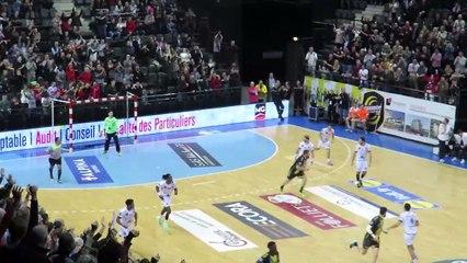 Fin de match Chambéry 28 28 Nîmes - 7/12/2017