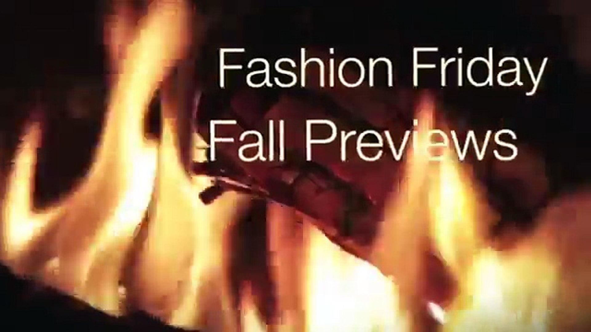 Fall Fashion Previews Fashion Friday Rosa's Beauty Fashion