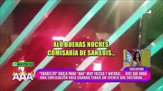 Isabel Acevedo revela por error desde cuándo inició su relación con Christian Domínguez