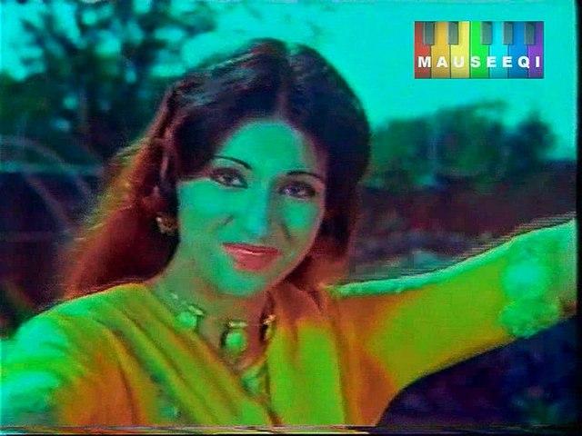 Main Aankh Ban Kay Yoonhi Tumhen - Film Waday Ki Zanjeer - Title_38 of DvD Nahid Akhtar Popular Hits