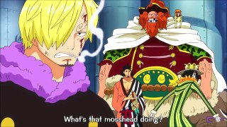 Zoro Gets Angry With Luffy Get A Grip One Piece EN