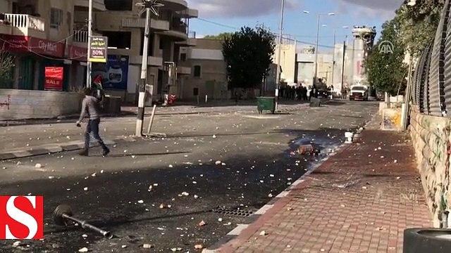 İsrail askerleri Batı Şeriada gerçek mermi ile müdahale etti