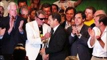 Johnny Hallyday mort : Nicolas Sarkozy  lui rend hommage à la sortie du funérarium