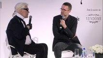 Comment Karl Lagerfeld différencie son travail chez Chanel et Fendi?
