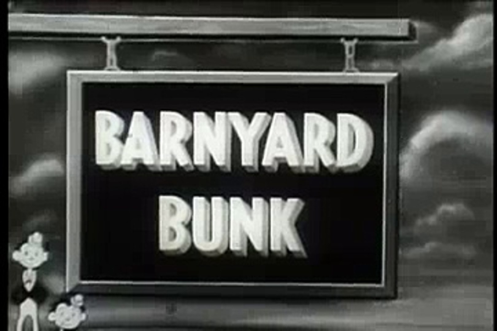 Tom and jerry barnyard bunk 1932
