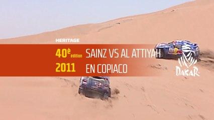 El duelo Al Attiyah / Sainz (20/40)