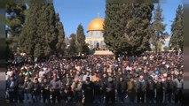 Los palestinos de Jerusalén protestan contra la decisión de Trump