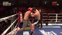 Showdown: Rico Verhoeven and Jamal Ben Saddik debate their upcoming GLORY REDEMPTION title fight