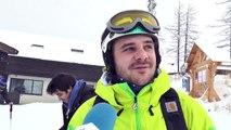 Hautes-Alpes : la neige ravie les skieurs à la station de Serre Chevalier