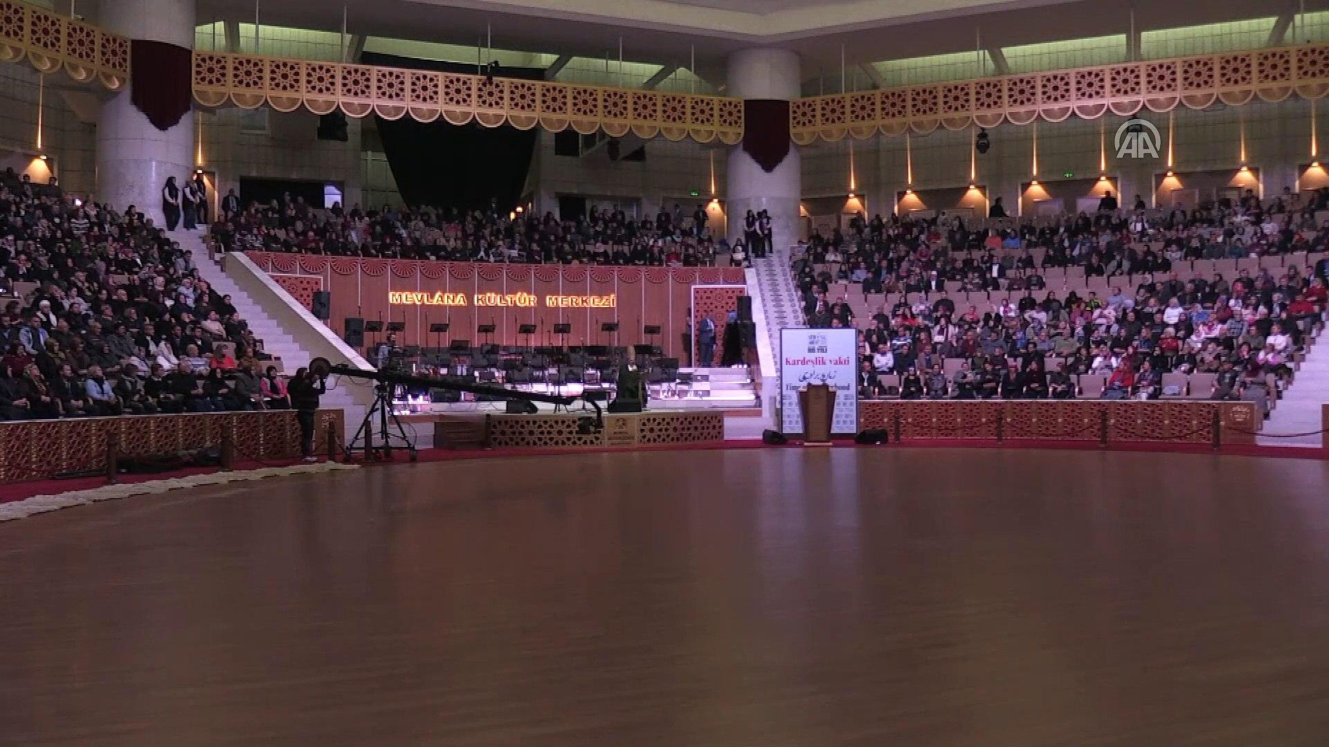 Mevlana'nın 744. Vuslat Yıl Dönümü Uluslararası Anma Törenleri - KONYA