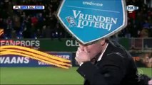 1-0 Bartholomew Ogbeche Goal Holland  Eredivisie - 08.12.2017 Willem II Tilburg 1-0 NAC Breda