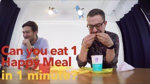 Food Fight: McDonalds Happy Meal Challenge