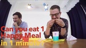 Food Fight: McDonalds Happy Meal Challenge