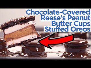 Oreo Stuffed With Reese's Peanut Butter Cups Are Better Than Cookies