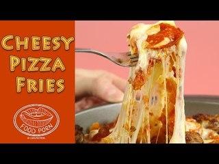 Easy Recipes: Cheesy Pizza Fries