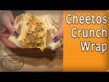 How to Make the Taco Bell Cheetos CrunchWrap Supreme! Taco Bell Recipes | #FoodPorn