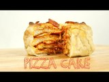 Easy Dinner Recipes: How to Make Pizza Cake   Food Porn