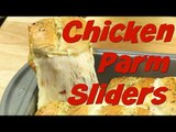 Tasty Chicken Recipe: Easy Cheesy Chicken Parm Sliders! | Food Porn