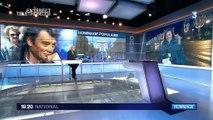 Les Champs-Élysées se préparent pour l'hommage à Johnny Hallyday