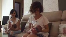 Samanta descubre cómo son las primeras semanas de unos papás de trillizos