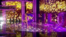 The heat is on for Chloe with her Disco Inferno routine _ Semi-Final 5 _ Britain's Got Talent 2016-mkPOiSOns34