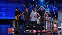 3 Shades of Blue - Pop Rock Band Covers Nina Simone's 'Feeling Good' - America's Got Talent 2015-RYQ5W0bXT90