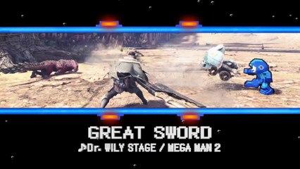 Monster Hunter: World - MegaMan Collaboration