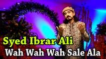 Syed Ibrar Ali -   Wah Wah Wah Sale-Ala   Naat   HD Video