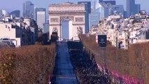 La dépouille de Johnny Hallyday descend les Champs-Élysées !