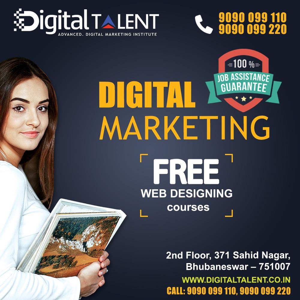 Digital Talent – Advanced digital marketing Course