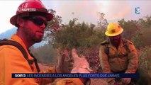 La Californie en proie à un gigantesque incendie