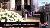 Hommage à Johnny Hallyday : Emmanuel Macron hué lors de son discours (vidéo)