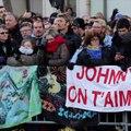 Sur les Champs-Élysées, dernier hommage à Johnny Hallyday