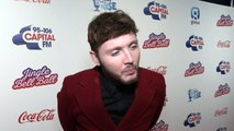James Arthur says he doesn't give a sh*t about Bonas rumours