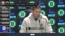 Bruins Face-Off Live: Bruce Cassidy Has High Praise For Islanders Rookie Matt Barzal