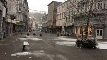 Il neige à Verviers