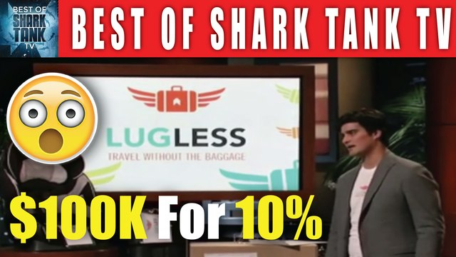 Shark Tank $1 Million Valuation For A Luggage Service Business - Best of Shark Tank TV